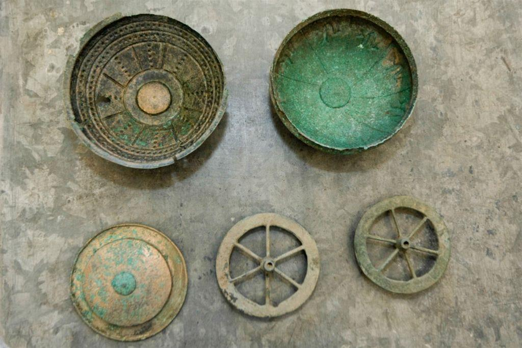 A hoard of bronze objects discovered in Western Poland