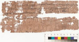 The letter discovered in the hermitage