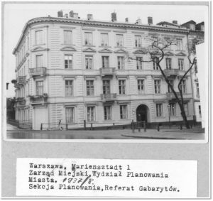An archive photo of the discovered building in early 20th century (by TVN Warszawa)