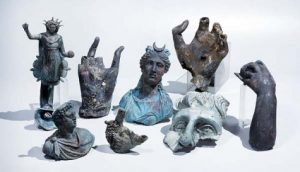 Archaeological finds in the ancient harbour of Cesarea (by The Jewish Press)