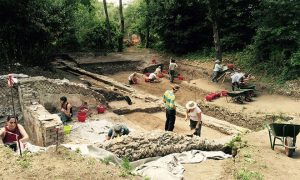 Excavations at Tivoli (by Live Science)