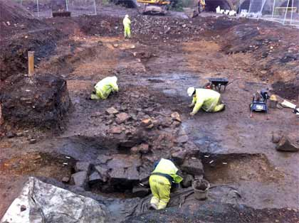 Lost medieval castle found in Glasgow