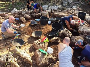 Fieldwork at the site (by Popular Archaeology)