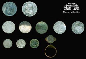 Artefacts found by detectorists (by Michał Młotek)