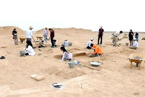 Excavations at the site (Mehr News Agency)