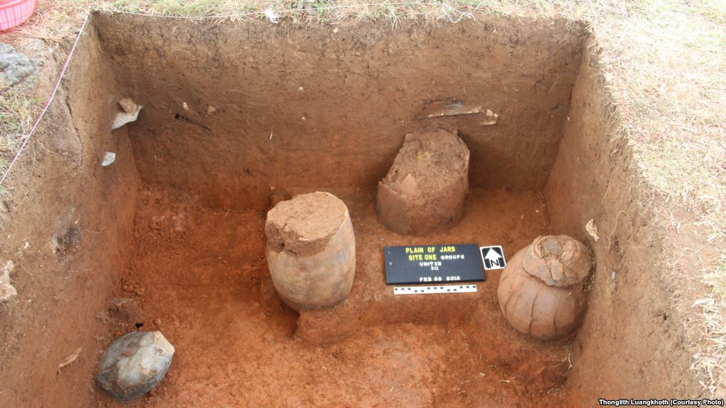 Plain of Jars reveals ancient burials