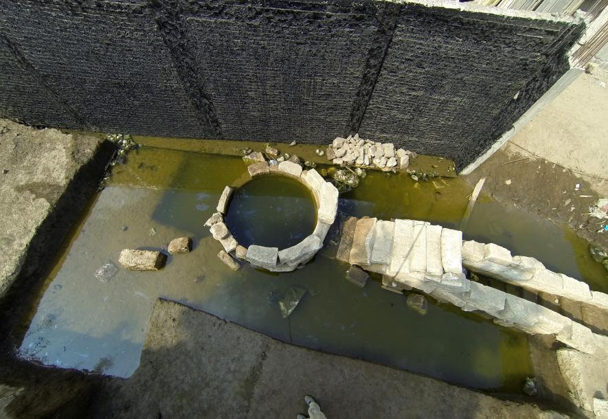 Unique ancient device unearthed by the Nile