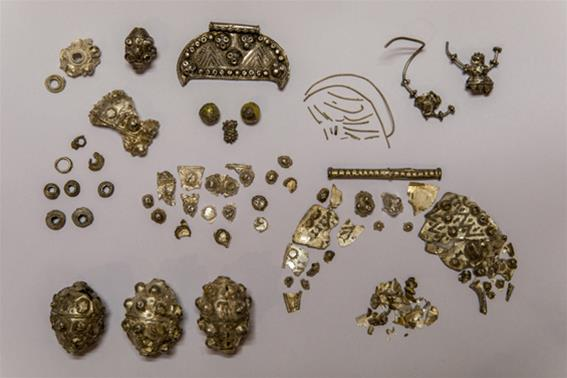 Numerous metal finds from eastern Poland