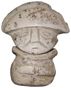 Ceramic figurine found by the bodies (by Archaeology)