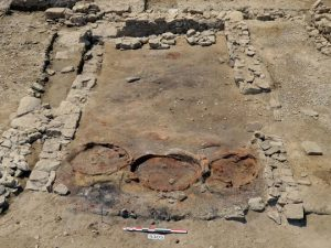 Remains of three ovens found inside the structure (by USA Today)