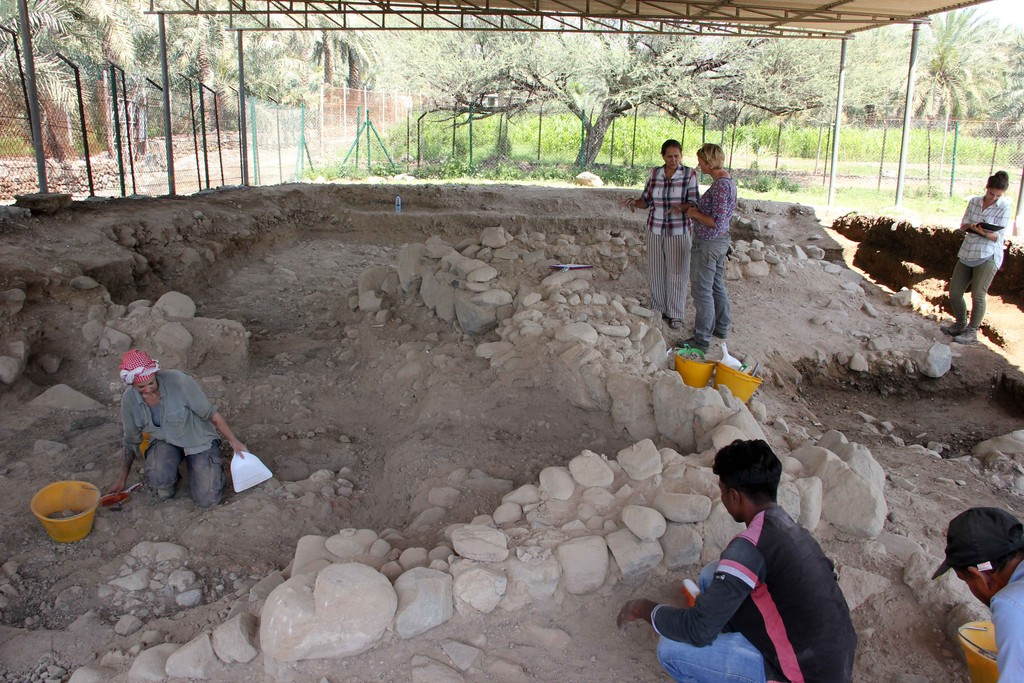 Mosque construction unearths ancient burial site