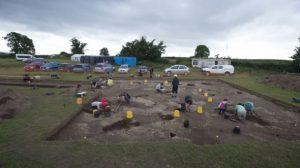Site of the excavations (by BBC News)