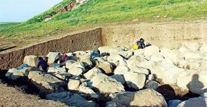 Site of the excavations (by Hurriyet Daily News)