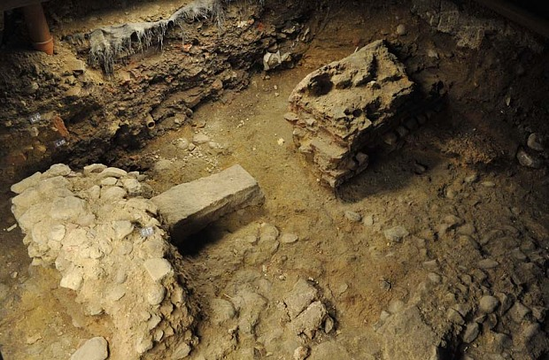 Largest Roman arcade in Britain unearthed