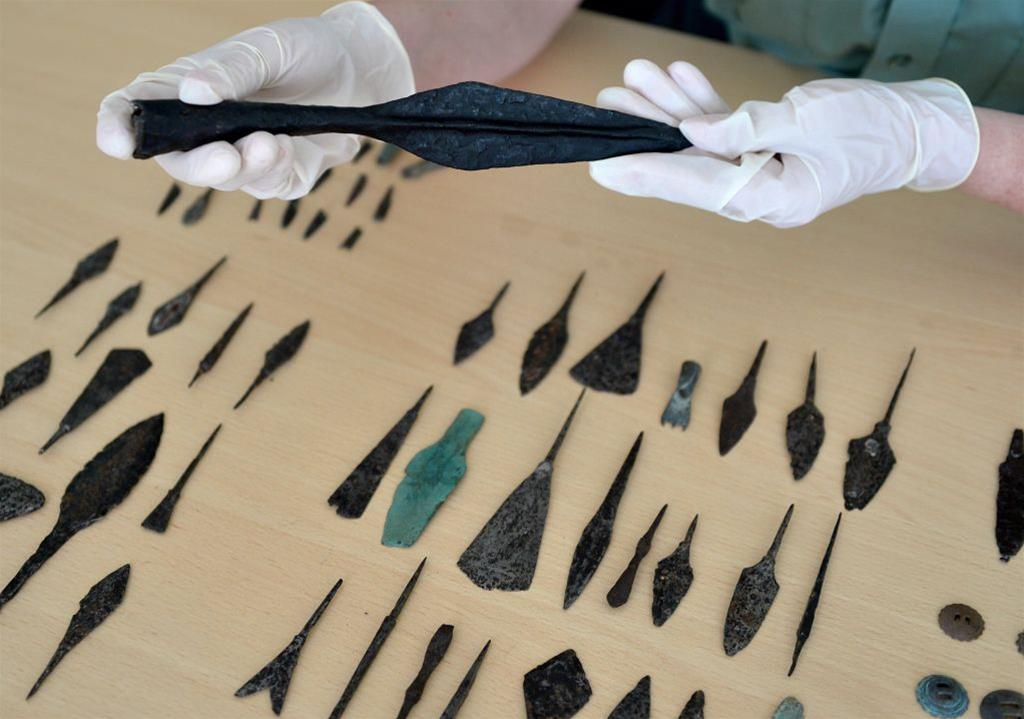 Smuggle of numerous artefacts foiled
