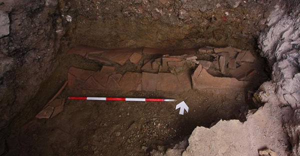 Ancient grave discovered in Istanbul