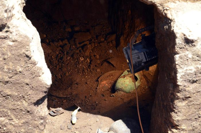Tomb of so-called Etruscan princess holds numerous treasures