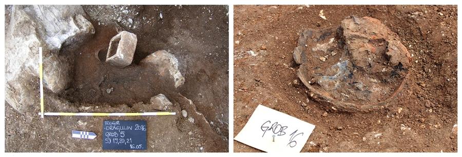 Roman necropolis found during construction works