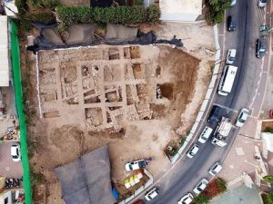 Aerial photo of the site (by The Jewish Press)