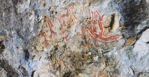 Rock paintings in Balikesir (by Hurriyet Daily News)