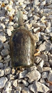Bottle found in the dig (by TVN Warszawa)