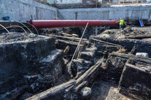 Excavation site in Bydgoszcz (by Dziennik Pomorski)