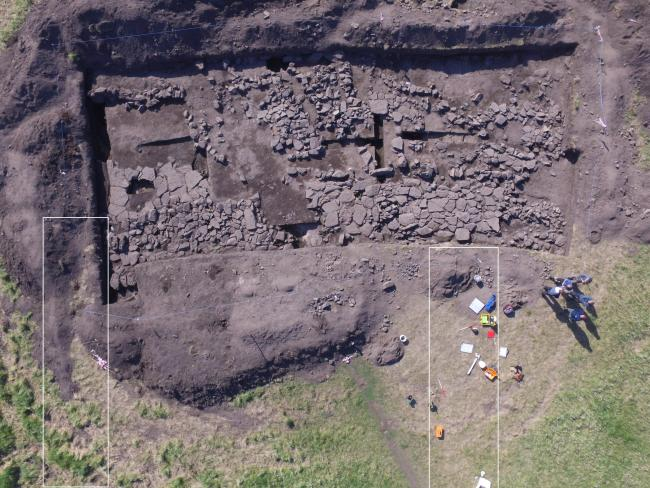 Excavations in Scotland reveal remains of an Anglo-Saxon building