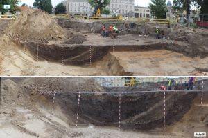The excavation site (by Lublin112.pl)