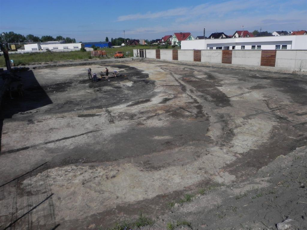 Excavations unearth a large portion of a ringfort in western Poland