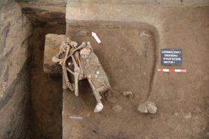 Double burial from Czermno (by Mariusz Dziekański)