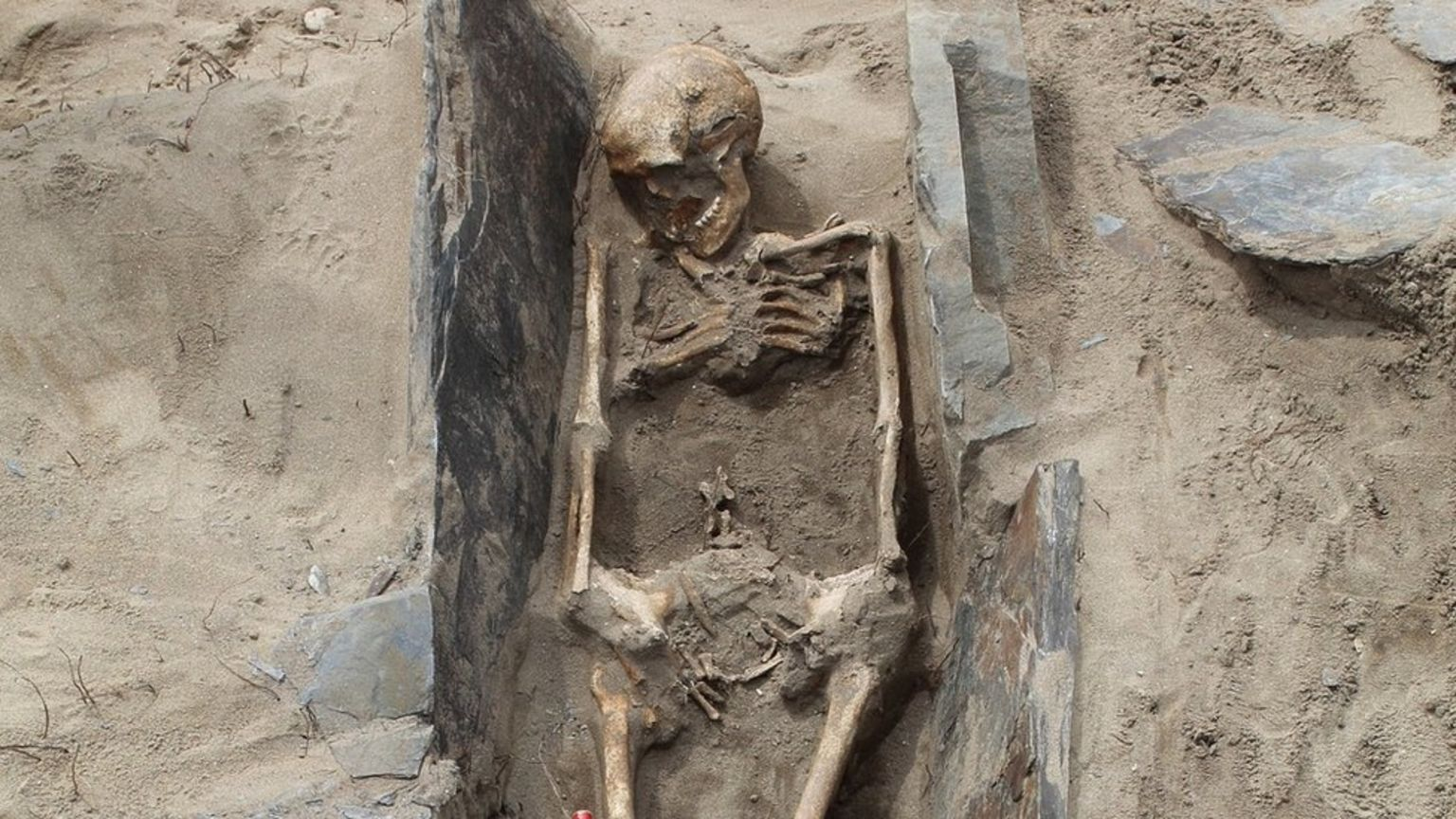 Early-6th century burials found in Pembrokeshire