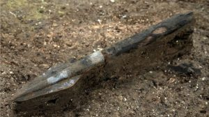 Spear among the discoveries (by BBC News)