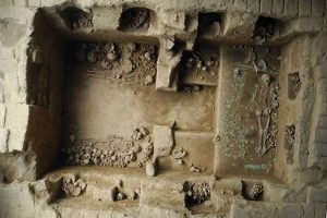 Tomb of the Moche princess (after PhysOrg)