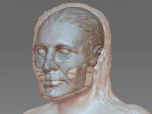 Digital reconstruction (by Dorota Lorkiewicz-Muszyńska)