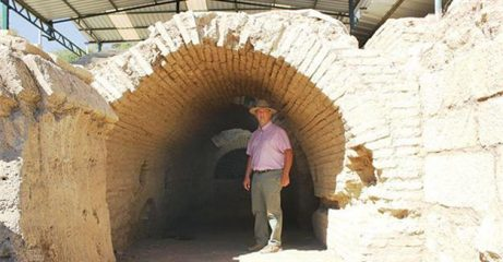 Ancient brick vault structure discovered in Turkey