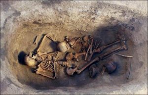 Noblewoman's burial (by The Siberian Times)