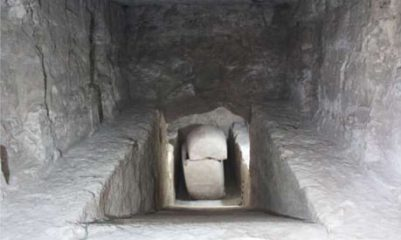 Burial chamber with a sarcophagus were discovered on Luxor's west bank