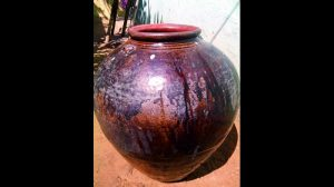 Chinese jar found in Motupalli port (by Deccan Chronicle)