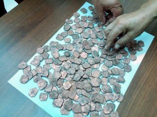 12th century coins discovered in Azerbaijan