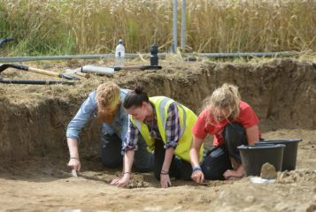 Heated room uncovered in Lufton Roman villa