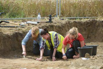 Heated room uncovered in Lufton Roman villa