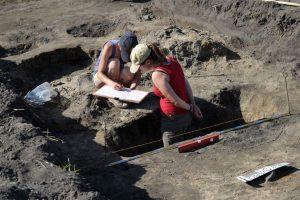 Excavations near Trzcińsko-Zdrój (by Marcin Bielecki)