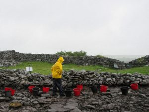 Excavations at Caherconnell Cashel (by Popular Archaeology)