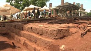 Excavations at the estate (by NBC29)