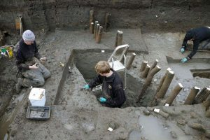 Excavations at the Must Farm site (by Live Science)