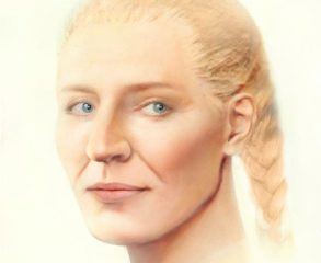 Facial reconstruction of a female buried with Grand Prince of Kievan Rus'