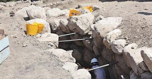 The secret tunnel found in Alacahöyük (by Hurriyet Daily News)