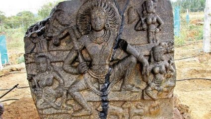 10th century relief discovered in southern India