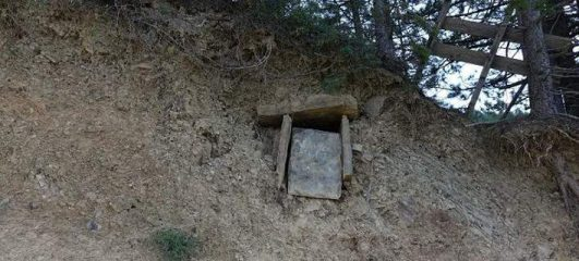 Byzantine tomb discovered by teens in Greece