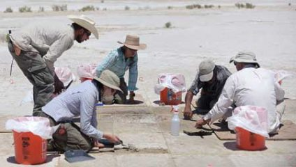 Utah desert reveals an Ice Age hunting site